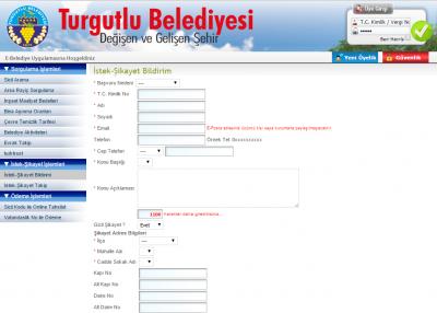 Turgutlu e-belediye