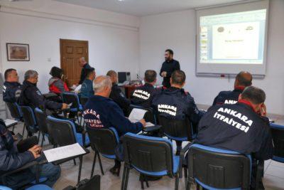 Ankara İtfaiyesi'ne İleri Sürüş Eğitimi
