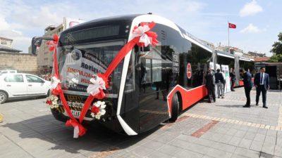 Kayseri Büyükşehir Belediyesi'nin düzenlediği elektrikli otobüs ihalesini Bozankaya kazandı.