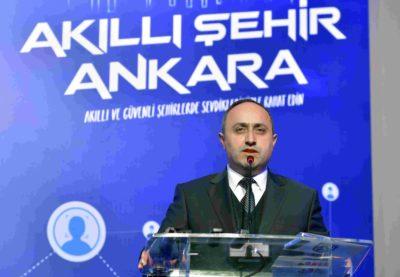 Ankara Büyükşehir Belediyesi Genel Sekreter Yardımcısı Erdoğan Kurtoğlu imza töreninde konuştu.