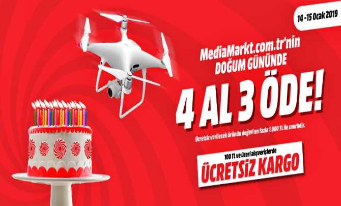 MediaMarkt doğum günü kampanyası