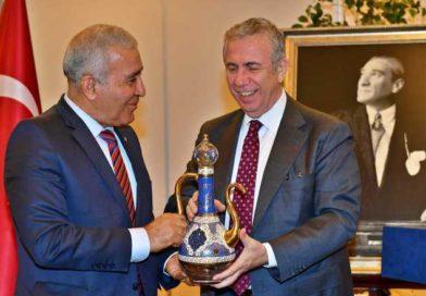 Görev Süresi Dolan Prof. Dr. Cumali Kınacı ASKİ'ye Veda Etti