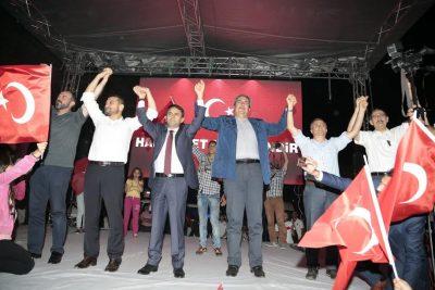 Nevşehir Darbeye Karşı
