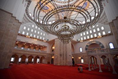 Ankara'nın en büyük cami ve külliyesi açılışa hazırlanıyor.