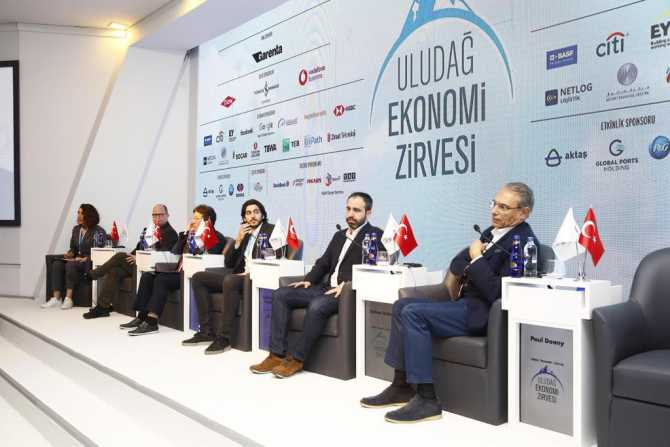 Uludağ Ekonomi Zirvesi'nde Paul Doany girişimcilere destek verdiklerini açıkladı